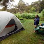 Camping at Kokee State Park